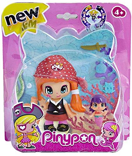 Pinypon Piratas y Sirenitas - Figura Pirata Gorro Rojo (Famosa 700013363)