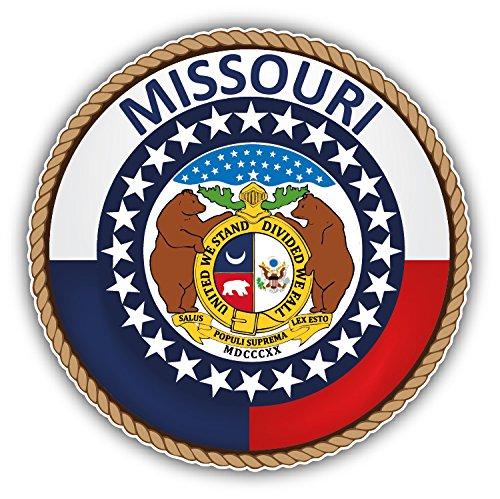 Missouri USA State Seal Auto-Dekor-Vinylaufkleber 12 X 12 cm -