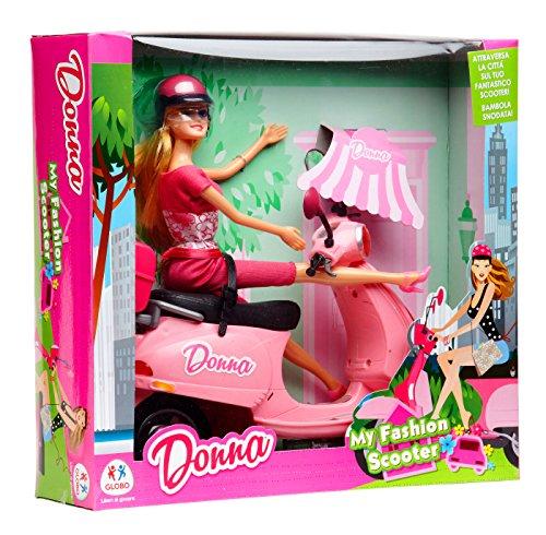 Globo Toys Globo 37061 Donna Fashion - Muñeca con Patinete