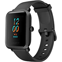 Amazfit Bip S Smart Watch with Built -in GPS, 15-Day Battery Life, Always-on Display, 5ATM Water Resistance (Carbon…