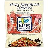 Blue Dragon Revuelva Salsa De Alevines - Szechuan Tomate Picante (120g) (Paquete de 2)