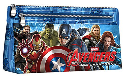 Avengers–Estuche escolar 2cremalleras Avengers la ERE de Ultron invierno 2015