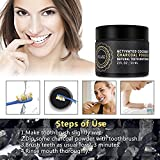 Misyo Charcoal Teeth Whitening Powder, Organic Coconut Activated Charcoal Teeth Whitening, Enamel Safe Teeth Whitener for Sensitive Teeth Gums, Fresh Mint Flavor