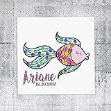 Fingerprint Fingerabdruckbild Ariane Taufe Geburt
