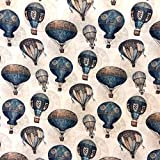 Tissu Montgolfières Nacelle , vendu au mètre