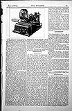 Stampi il Nuovo Testo della Limatrice Della Lama a Nastro Ha Annotato 1885 49L148