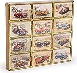 Classic Wheels Geschenkpackung Mini Täfelchen mit Automotiven, 204g