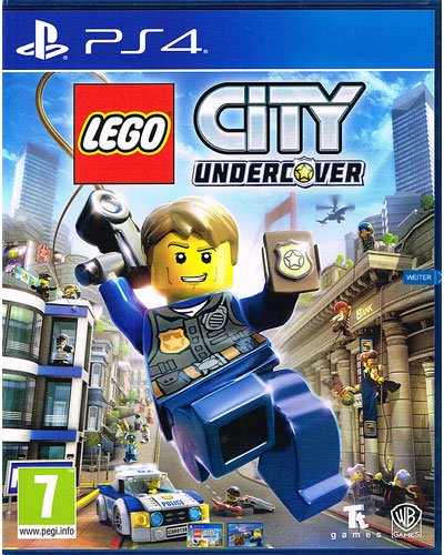 Lego City Undercover PS-4 AT