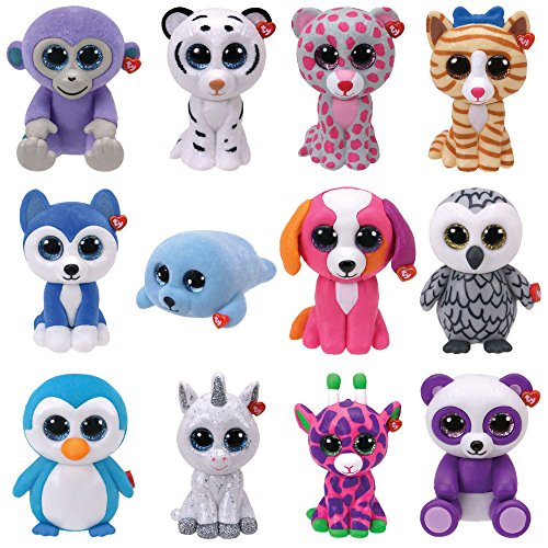 TY Mini Boos Boo s Collectable Mini Figures - 12 Piece Set of Series 2 bfe01f374c06
