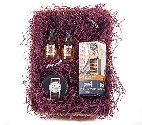 Chivas Regal Whisky behindern Mini | wickers Geschenk Korb - Wicker Regal Korb