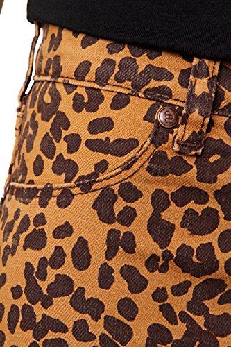 Fiveunits 5Units Damen Jeans Skinny Skinny Jeans PENELOPE Leopard
