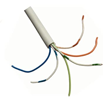 Strange 30M Bt Telephone Cable Cw1308 3 Pair 6 Wire White Internal Phone Wiring Cloud Hisonuggs Outletorg