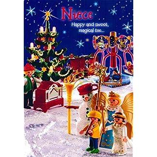 Sello – ' sobrina, feliz y dulce, muy mágico… ' cabida – felicitaciones navideñas CH0168