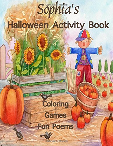 ctivity Book: (Personalized Books for Children) Halloween Coloring Book, Games; mazes & connect the dots, Halloween Poems: Printed ... gel pens, colored pencils, or crayons (Dot, Dots Halloween)
