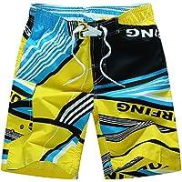Pantalones cortos de playa Pantalones cortos de playa de verano de gran tamaño para hombres Pantalones cortos de playa de secado rápido para mujeres Pantalones cortos de playa para hombres marea Irregular