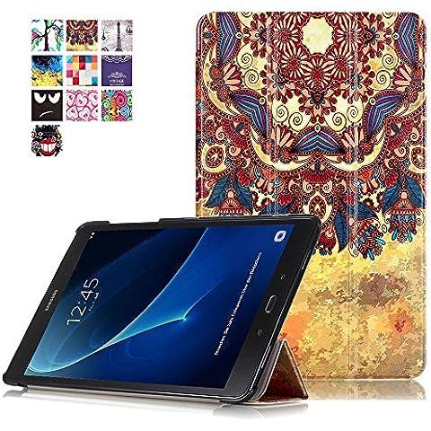 Carcasa Samsung Tab A 10,1'',Galaxy Tab A6 T585N Funda - Flip Cover de PU Cuero Smart Case Protección Stand Funda para Samsung Galaxy Tab A6 10.1'' SM-T580N / SM-T585N Tablet,Estilo de