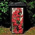 Pötschke Ambiente Mülltonnen-Aufkleber Rosen von Pötschke Ambiente - Du und dein Garten
