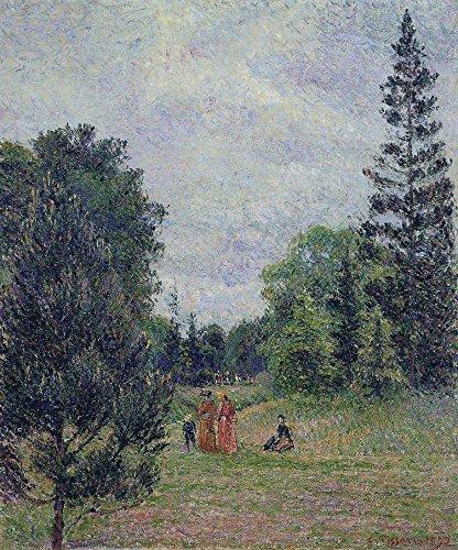 Das Museum Outlet-Kew Gardens, Crossroads in der Nähe der Teich, 1892-Leinwand Print Online kaufen (101,6x 127cm)