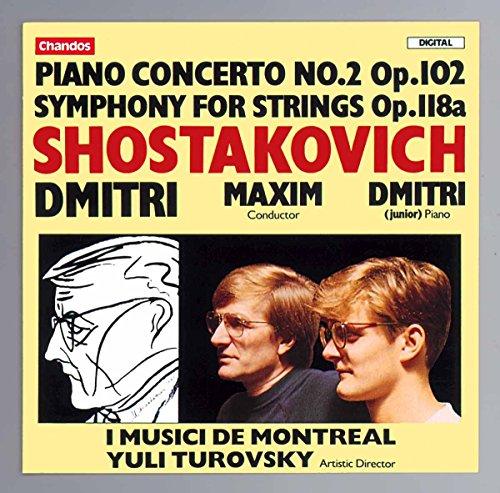 Klavierkonzert 2 und Streichers.