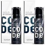 Wild Stone Code Platinum Body Perfume 120 Ml pack 2