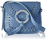 Pollini Bag - Borse a spalla Donna, Blu (Azzurro), 8x16x18 cm (B x H T)