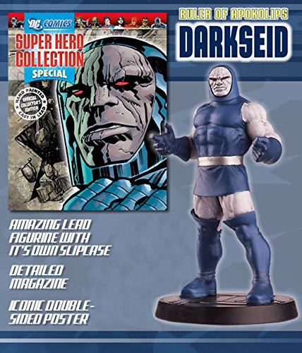 DC Comics - Figura de Plomo DC Comics Super Hero Collection Especial Darkseid