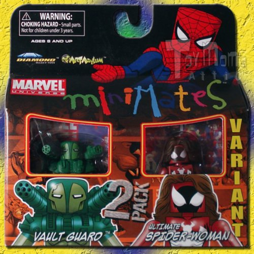 Marvel Minimates Serie 30: Vault Guard & Spider-Woman