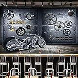 PALFU Benutzerdefinierte Fototapete Industriemaschinen Wandbild Motorradausrüstung Tapete...