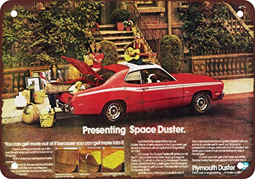 1972 Plymouth Space Duster vintage look Reproduction metal Sign