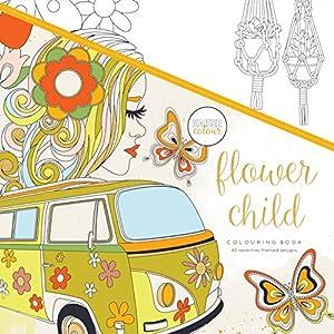 Kaisercraft - Libro para colorear Flower Child (CL519)