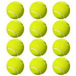 Z Stock Green Tennis Ball for (Cricket and Tennis) - Pack of 12