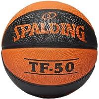 Spalding BE TF50 OUTDOOR SZ.7 (83-284Z) - Pelota, Unisex, Naranja - (orange)