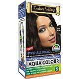 INDUS VALLEY Hypo Allergic Aqua Colour 100% Botanical Hair Colour Dark Brown