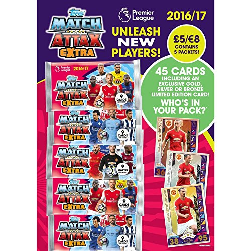 EPL Match Attax Extra 2016 17 Multipack