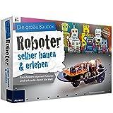 Unbekannt Experimentier Box Roboter der Hindernissen ausweicht selber bauen und erleben ab 8 Jahren • Bausatz Experimentierkasten Kinder Elektronik Spiel Elektrik Set