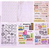 MESSAGE style Aufkleber/Stickers für Card-Making / Geschenkverpackungen