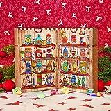 Image of Zauberhafter Adventskalender von Der Zuckerbäcker gefüllt mit Fruchtgummis, Kaubonbons und weiteren süßen Kindheitserinnerungen