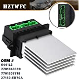 HZTWFC Résistance de ventilateur de climatisation OEM # 6441L2 7701048390 7701207718 27150-ED70A pour Peugeot 207 607 1007 -