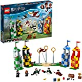 LEGO 75956 Harry Potter Quidditch Match Building Set, Gryffindor Slytherin Ravenclaw and Hufflepuff Towers, Harry Potter Toy Gifts