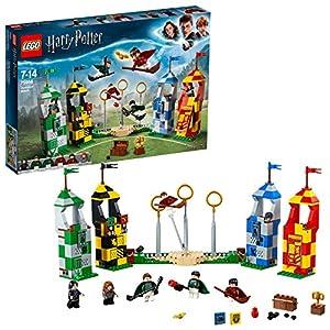 LEGO Harry Potter - Partido de Quidditch, Set de Construcción de Juguete del Deporte de Hogwarts (75956) 16