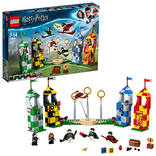 Potter Harry Hogwarts Kostüm - LEGO Harry Potter - Quidditch Turnier (75956) Bauset (500 Teile)
