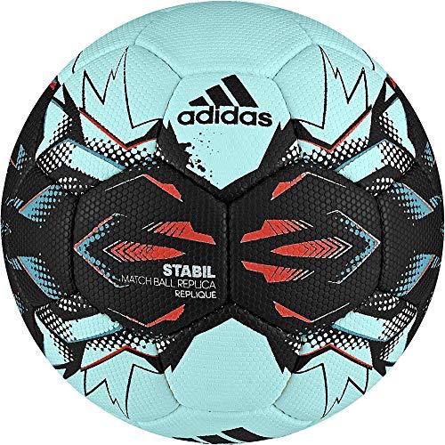 adidas Stabil Replique Handball Saison 2017 (Größe: 3 (Herren), energy aqua f17/black/energy blue s17/energy s17)