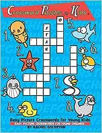 Buy Crossword Puzzles for Kids: Easy Picture Crosswords ...