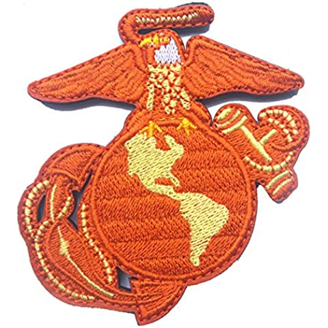 Nueva infantes de marina del Águila Globo ancla Ega Patch Ejército militar táctica Moral Badge parches bordados insignias de tela brazalete Pegatinas