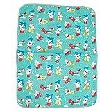 #6: Gurukripa New Born Baby Bed Protector Waterproof Multipurpose Changing Mat Plastic Sheets Baby Changer Sheet Cotton Foam Cushioned Sleeping Mat & Changing Mat Unisex, 0-9 Months, Pack of 1 (Green)