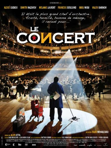 Le concert Plakat Movie Poster (11 x 17 Inches - 28cm x 44cm) (2009) French
