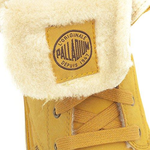 PalladiumBAGGY LEATHER S~AMBER GOLD/GUM~M - Stivali Desert, imbottiti Donna Braun (AMBER GOLD/GUM 228)