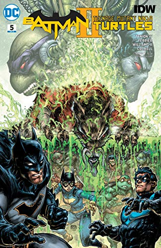 Batman/Teenage Mutant Ninja Turtles II (2017-2018) #5 ...