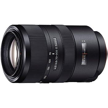 Sony SAL70300G2 - Objetivo para cámara réflex para Sony A-Mount con Lente G (Distancia Focal 70-300mm, Apertura f/4.5-5.6) Negro