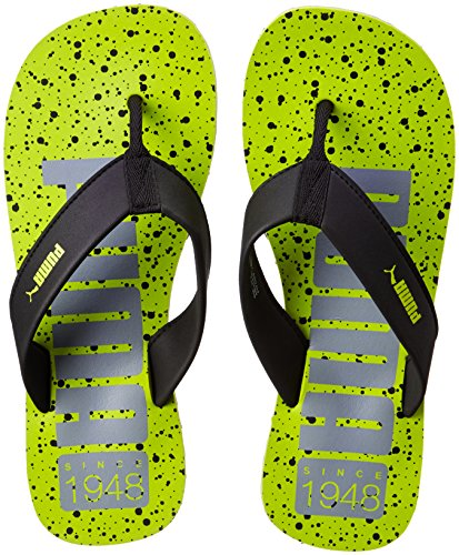 804675a622ee Puma Men Puma Men s Ray IDP Limepunch-Gray Violet-Black Flip Flops Thong  Sandals - 11 UK India ...